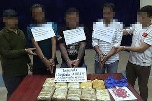 Hà Tĩnh: Bắt 3 đối tượng trong đường dây vận chuyển 62.000 viên ma túy