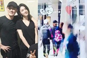 Lâm Phong ngọt ngào nắm tay, cùng vợ chưa cưới Trương Hinh Nguyệt dạo phố