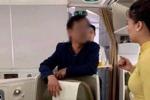 'Không có căn cứ xử lý hình sự đại gia bất động sản bị tố sàm sỡ cô gái trên chuyến bay Vietnam Airlines'