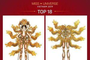 Cựu sinh viên ĐH Tôn Đức Thắng xuất sắc mang 'Vùng đất chín rồng' lọt TOP 3 vòng lựa chọn trang phục dân tộc tại Miss Universe 2019