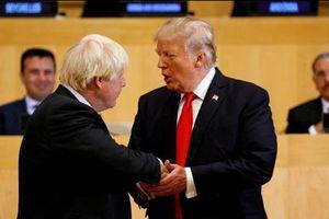 Tổng thống Mỹ Trump và Thủ tướng Anh Johnson có cuộc điện đàm đầu tiên