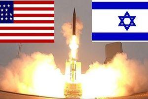 Mũi tên Israel hợp lực mắt thần Mỹ chặn tên lửa Iran