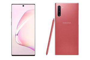 Ngây ngất Galaxy Note 10 bản hồng nữ tính đẹp không góc chết