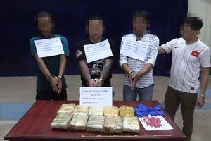 Hà Tĩnh: Thu giữ 62.000 viên ma túy tổng hợp vận chuyển từ Lào qua Việt Nam tiêu thụ