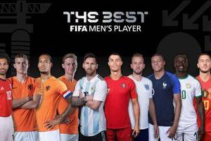 FIFA công bố danh sách cầu thủ và HLV xuất sắc nhất thế giới 2019