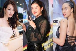 Khánh My lái siêu xe tuyệt đẹp cùng dàn sao Việt đến ra mắt ngoại truyện 'Fast & Furious'