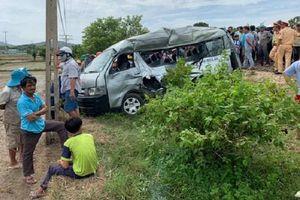 Xác định nguyên nhân ban đầu vụ tàu hỏa tông xe 16 chỗ khiến 3 người tử vong ở Bình Thuận