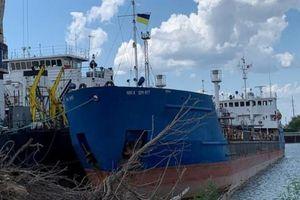 Tòa án Ukraine ra lệnh bắt giữ tàu chở dầu Nga