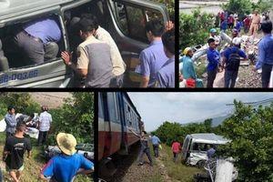 Ủy ban ATGT Quốc gia chỉ đạo khẩn sau vụ TNGT đường sắt tại Bình Thuận