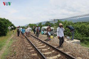 Tai nạn tàu hỏa làm 3 người chết ở Bình Thuận: Đang khắc phục hậu quả