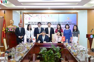 Lễ ký kết hợp tác truyền thông giữa Đài TNVN và KansaiTV