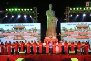 Khánh thành giai đoạn I Khu lưu niệm Nhà bác học Lê Quí Đôn