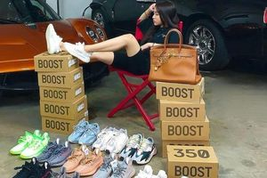 Con gái Minh Nhựa sở hữu chục đôi giày hiếm, xách túi 350 triệu đồng