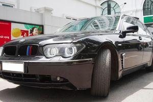 Xe sang một thời BMW 730 Li chạy 15 năm, giá 500 triệu