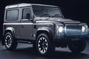 Land Rover Defender cũ lột xác với nâng cấp mới