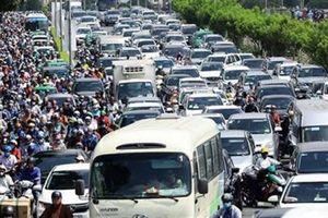 TP.HCM thu phí ô tô vào trung tâm: Dừng ở đề xuất