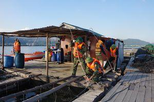 BĐBP Quảng Ninh chủ động triển khai lực lượng ứng phó bão số 3
