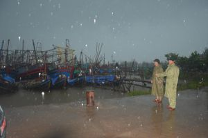 BĐBP Nam Định triển khai lực lượng, phương tiện phòng chống bão số 3