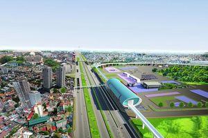Hơn 430 tỉ đồng xây cầu vượt trước Bến xe miền Đông mới