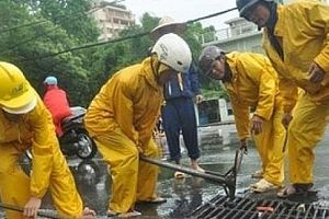 Hà Nội: Chủ động ứng phó với bão số 3 đang đi vào Vịnh Bắc Bộ