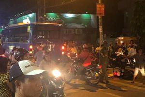 Người đàn ông tử vong dưới bánh xe buýt ở Sài Gòn
