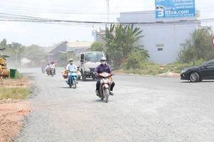 An Giang: 5km đường tránh qua điểm sạt lở, 5 năm chưa hoàn chỉnh