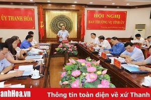 Ban Thường vụ Tỉnh ủy cho ý kiến vào Đề án di dân tái định cư xã Hải Hà, huyện Tĩnh Gia