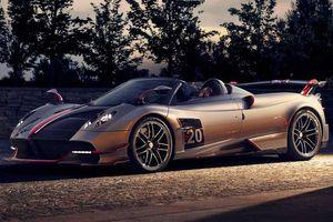 Pagani chốt giá siêu phẩm Huayra Roadster BC, chỉ 40 chiếc trên toàn thế giới