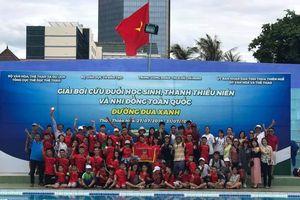 TP Hồ Chí Minh nhất toàn đoàn Giải bơi 'Đường đua xanh' 2019