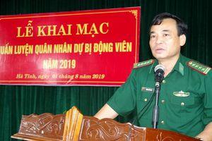 BĐBP Hà Tĩnh huấn luyện quân nhân dự bị động viên