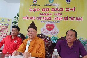 Giáo hội Phật giáo tổ chức ngày hội Hiến máu cứu người - Hành Bồ Tát đạo