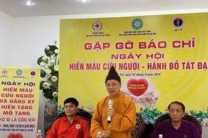 Giáo hội Phật giáo kêu gọi tăng ni tham gia hiến máu, hiến tạng