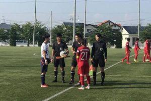 Tuyển nữ Việt Nam hòa đội bóng thành phố Sendai 1-1