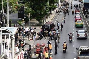 Hiện trường vụ đánh bom ở Bangkok ở thời điểm diễn ra hội nghị ASEAN