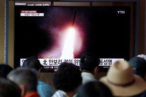 Triều Tiên lại thử nghiệm tên lửa mới - lần thứ ba chỉ trong vòng 8 ngày