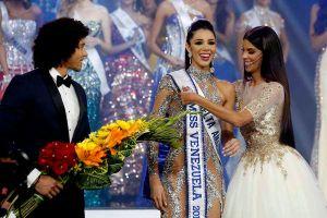 Cận cảnh nhan sắc tân hoa hậu Venezuela - đối thủ 19 tuổi của Hoàng Thùy tại Miss Universe