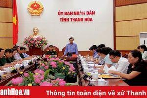 Đoàn công tác Ban chỉ đạo Trung ương các Chương trình Mục tiêu Quốc gia làm việc tại Thanh Hóa