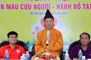 500 tăng ni tại Học viện Phật giáo Việt Nam sẽ tham gia hiến máu, hiến mô tạng