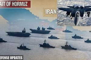 F-15 mang bom chùm quần thảo Hormuz: Quan trọng là lá gan
