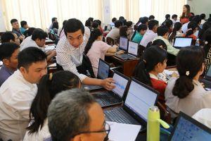 Tiền Giang: Nâng cao kỹ năng sử dụng phần mềm soạn giảng E-learning