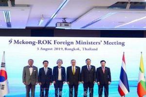 Tăng cường, thúc đẩy hợp tác Mekong – Hàn Quốc và Mekong – Nhật Bản