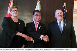 Mỹ, Úc, Nhật cùng lên án hoạt động chèn ép, gây rối ở Biển Đông