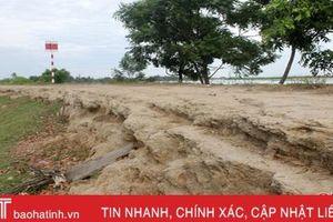 Đê điều xuống cấp, người dân Thạch Hà bất an khi mưa lũ về