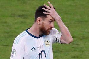 Lý do Messi bị phạt tiền và cấm thi đấu