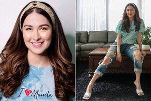 Tái xuất showbiz, 'mẹ bầu đẹp nhất Philippines' lại gây thất vọng vì style tụt dốc không phanh