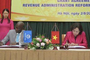 Nhật Bản hỗ trợ Việt Nam 4,2 triệu USD cải cách quản lý thuế