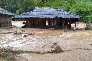 Mưa lũ khiến hàng chục người dân ở huyện Quan Sơn, Thanh Hóa mất tích