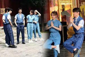 Phùng Thiệu Phong, Địch Lệ Nhiệt Ba, Thái Từ Khôn xuất hiện trong loạt ảnh hậu trường 'Gặp gỡ thiên đàn'