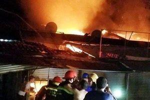 Nguyên nhân vụ cháy chợ Voi ở Hà Tĩnh khiến nhiều ki ốt bị thiêu rụi