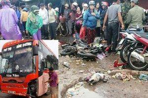Vụ xe khách lao vào chợ tông 4 người tử vong: Dữ liệu tốc độ tại thời điểm gây tai nạn bị mất